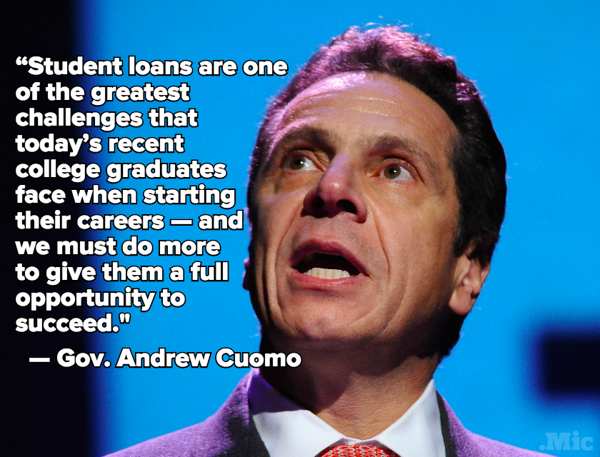 New York State May Forgive and Forget Some of Its Residents' Student Loan Debt