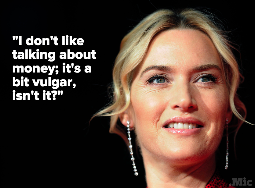 "Kate Winslet Says Public Discussion About the Gender Wage Gap in Hollywood Is ""Vulgar"""