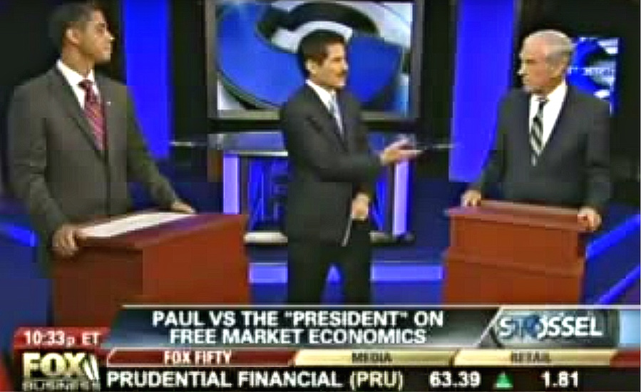 "Remember That Time in 2011 When Fox Business Hosted a ""Debate"" Between Obama and Ron Paul?"