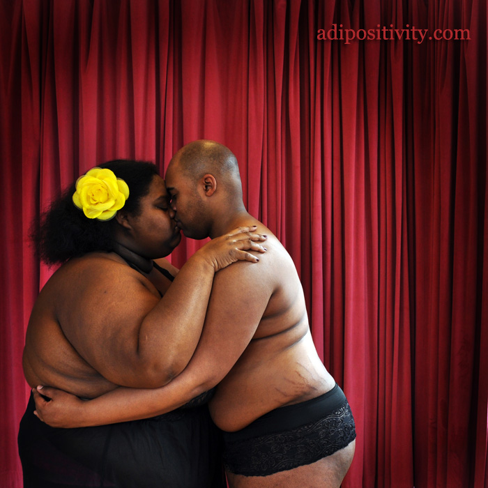 This Body-Positive Nude Photo Series Shows the Fatter, Queerer Side of V-Day Love