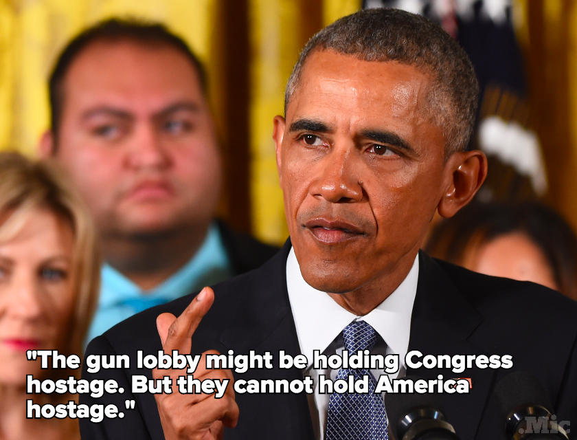 A Tearful Obama Announces New Executive Actions on Gun Control