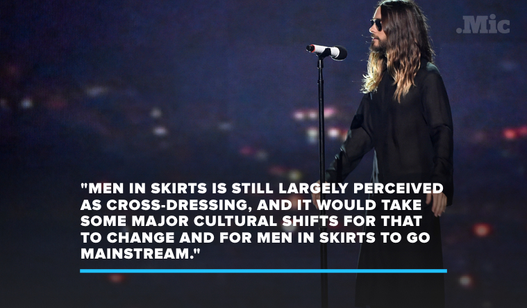 Sorry Not Sorry, but Fashion Won't Be Truly Genderless Until More Men Wear Skirts