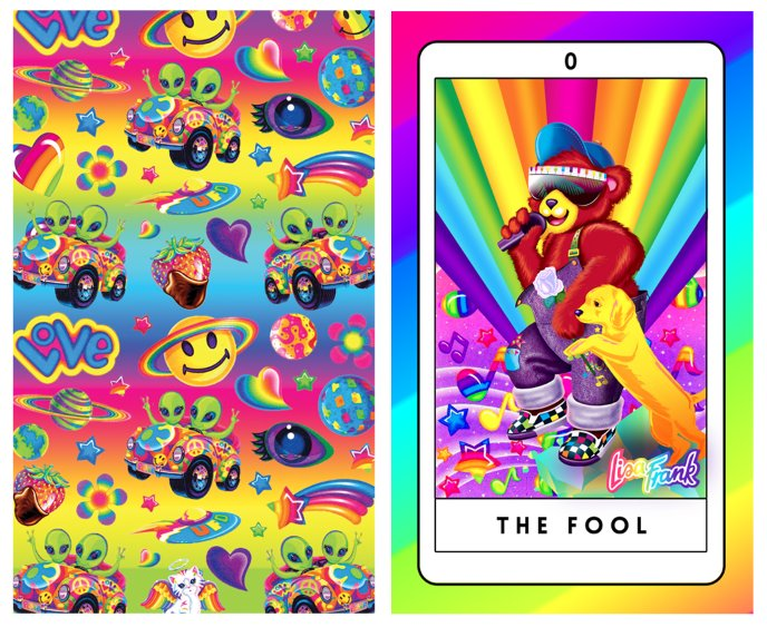The Lisa Frank-Inspired Tarot Deck You've Been Waiting For Is Finally Here