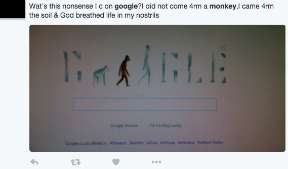 Creationists Are Slamming the Google Doodle for Celebrating Lucy the Australopithecus
