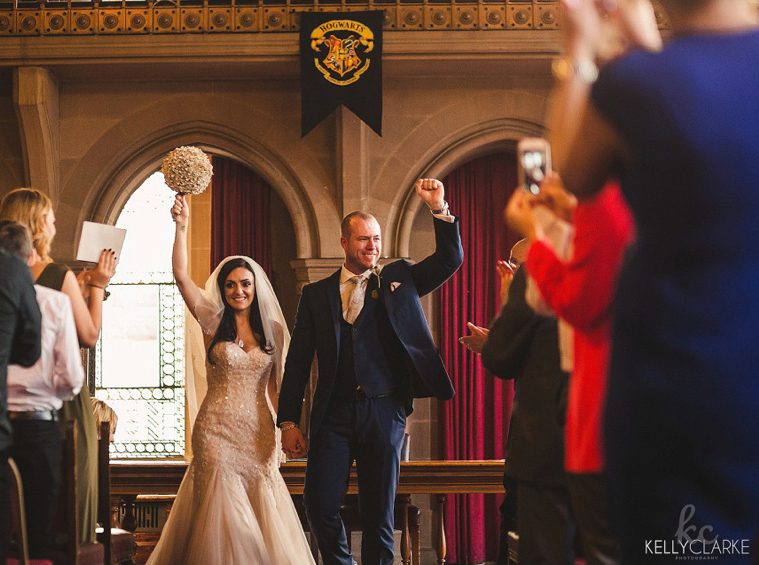 This Couple's Harry Potter-Themed Wedding Will Make You Cry Wizard Tears