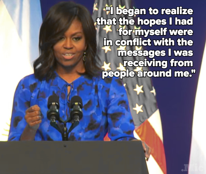 Michelle Obama Delivered a Powerful Address to Argentina's Girls