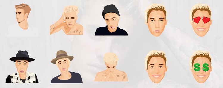 "Justin Bieber's New Emojis ""Justmoji"" Are the Most Self Aware Thing He's Ever Done"