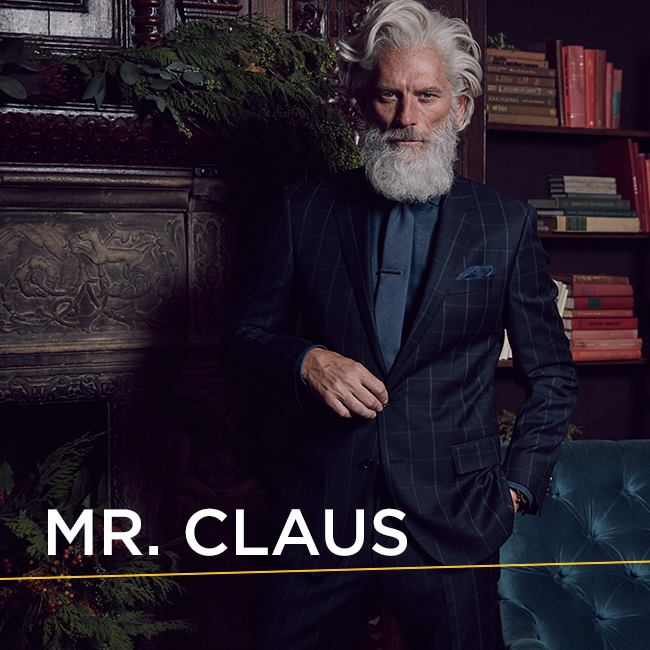"There's Now an Even Hotter ""Fashion Santa,"" Because Santa Can't Just Be Santa Anymore"