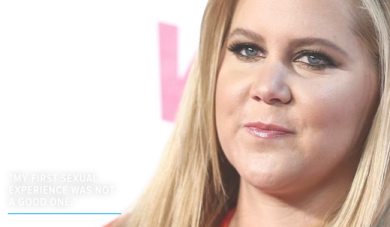 Amy Schumer Reveals Her First Sexual Experience Was Not a Consensual One