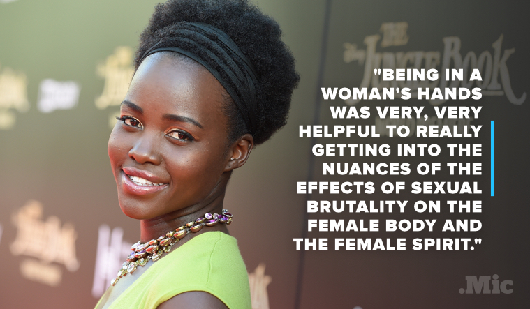 Lupita Nyong'o Explains Why Working With a Female Director on 'Eclipsed' Is So Important