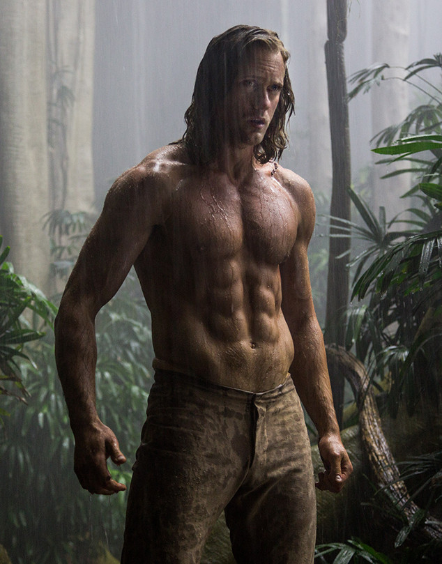 Alexander Skarsgård 'Tarzan' Workout: Here's What the Actor Did to Get Ripped