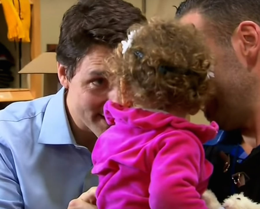 Seeing Justin Trudeau Greet These Refugees Will Have You Applying for Canadian Citizenship