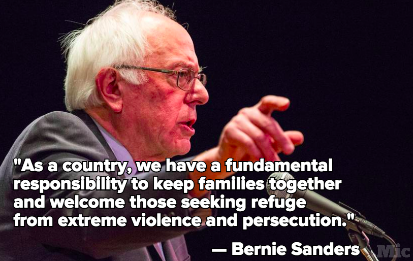 Bernie Sanders Blasts Deportation Raids in Impassioned Letter to Obama