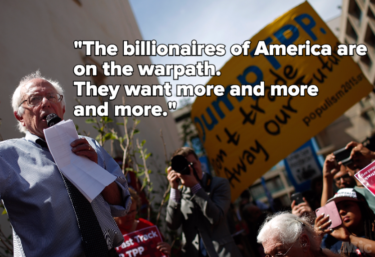 11 Powerful Quotes From Bernie Sanders Show Why He's A