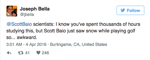 Scott Baio Doesn't Get Climate Change and Is Making That Quite Clear