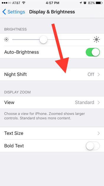 How to Turn on Night Shift, the New iPhone Setting That Will Save Your Sleep Schedule