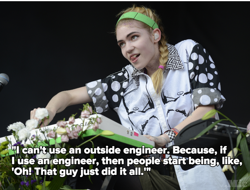 Grimes Says Men Still Get All the Credit for Women's Creative Work in a New Interview