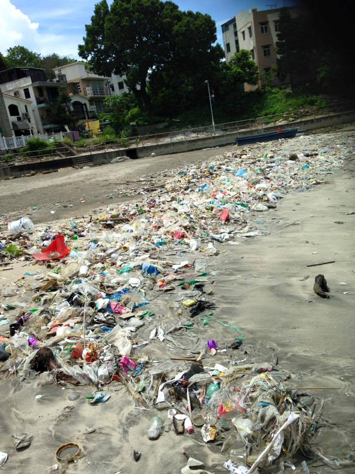 Hong Kong's Beaches Are Being Overrun By Trash — And It's Only Going to Get Worse