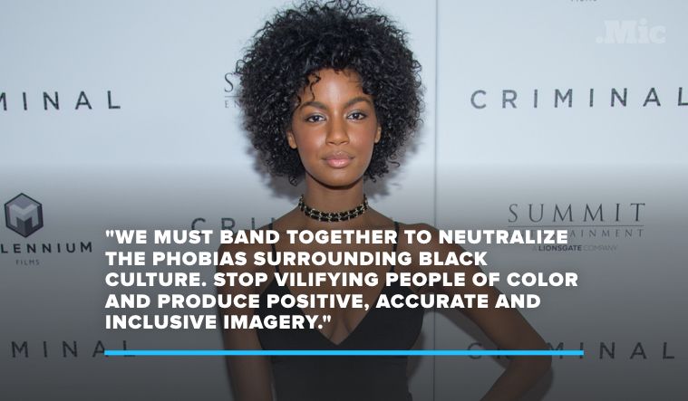 "Ebonee Davis Pens Powerful Letter to the Fashion Industry to C ""Systemic Racism"""