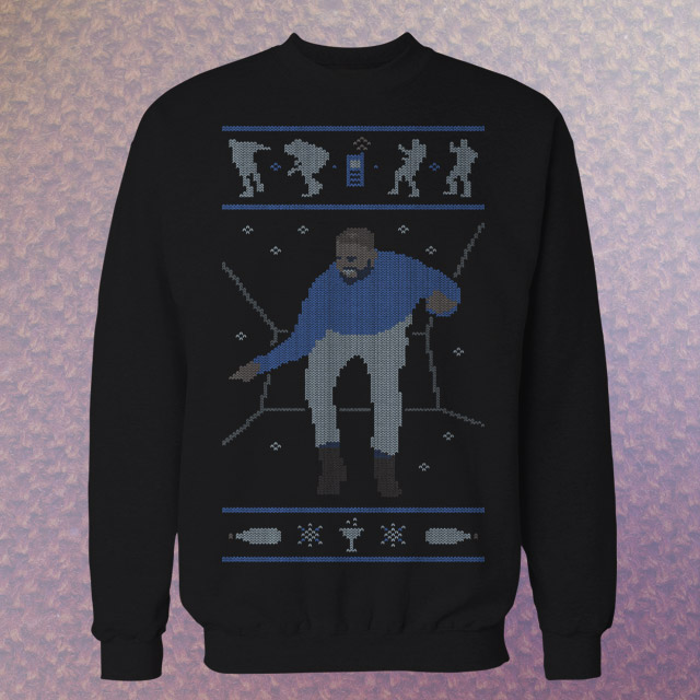 "Drake's ""Hotline Bling"" Moves Just Got the Holiday Sweater Treatment"