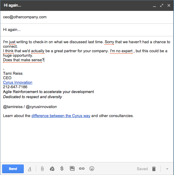 This New Gmail Plugin Will Help You Say What You Really Feel