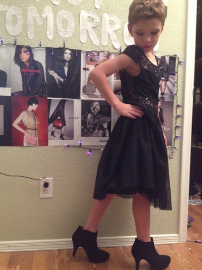 this 8yearold boys beautiful outfits destroy gender