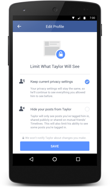 Facebook Will Now Keep You From Compulsively Stalking Your Ex's Feed