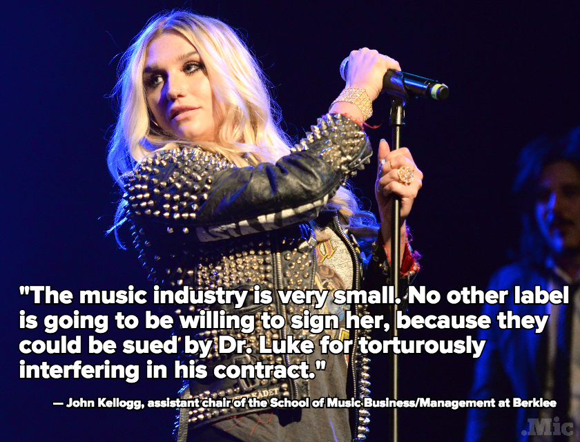 Kesha's Story Should Be a Warning to All Who Think Creative Freedom Is the Norm in 2015