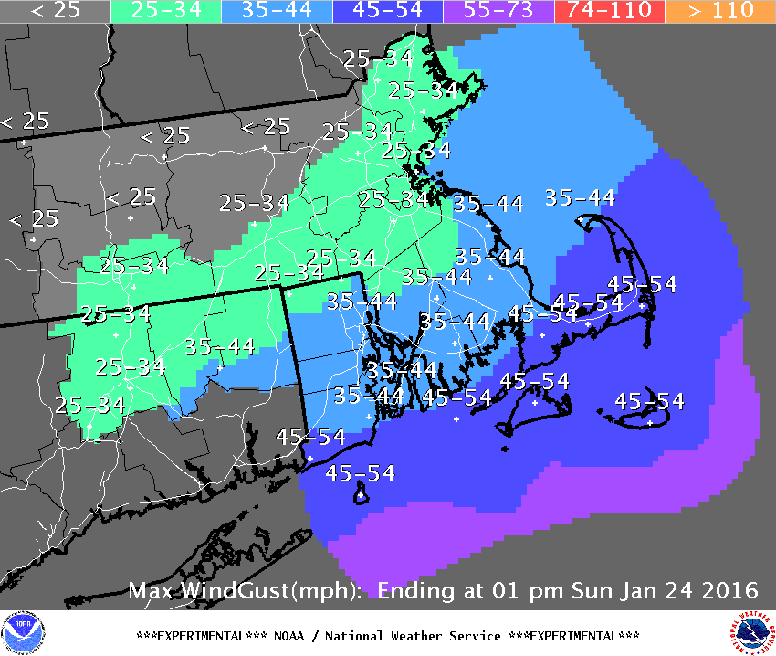 Boston Snowstorm 2016: Forecast and Expected Snowfall for This Weekend