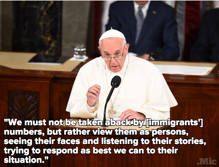 Pope Francis Urges US to Embrace Immigrants in Impassioned Plea to Congress