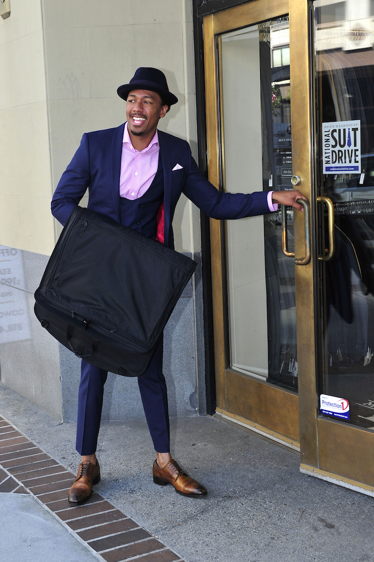 Nick Cannon Partners With Men's Wearhouse to Help the Unemployed Re-Enter the Workforce