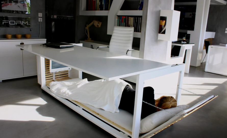 Forget the Standing Desk — Your Office Needs a Nap Desk Right Now