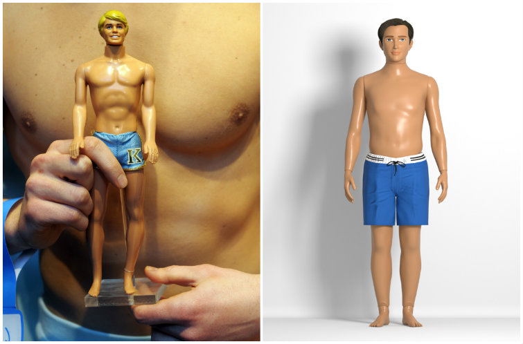 Male Barbie Is Getting a Realistically Proportioned Friend — Meet Boy Lammily