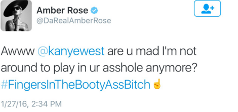 The Kanye West-Amber Rose-Wiz Khalifa Love Triangle That Sparked Yeezy's Twitter Tantrum