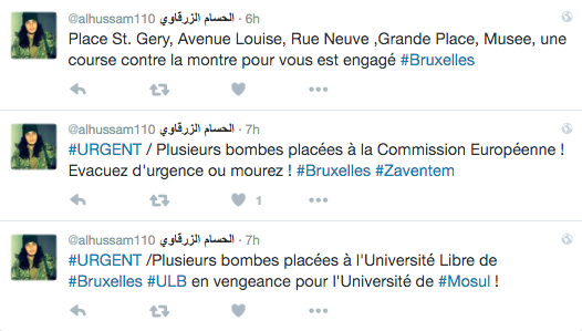After Brussels Attack, Terrorists Are Using Twitter to Spread False Alarms, Lies and Panic