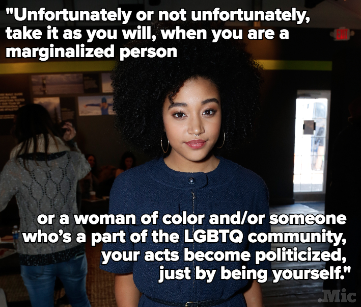 Amandla Stenberg Just Gave Us the Real Reason Intersectionality Is So Important