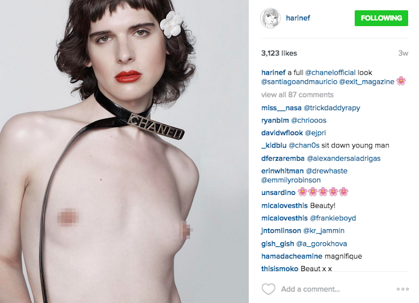 This Transgender Model Called Out a Problem That Fashion Still Needs to Get Right