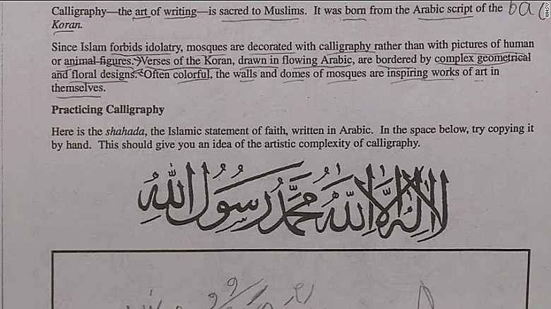 This Virginia School District Shut Down After One School Taught Islam as a World Religion