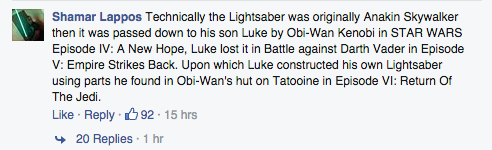 Here's How to Add a Lightsaber to Your Facebook Profile Picture for 'Star Wars' 7