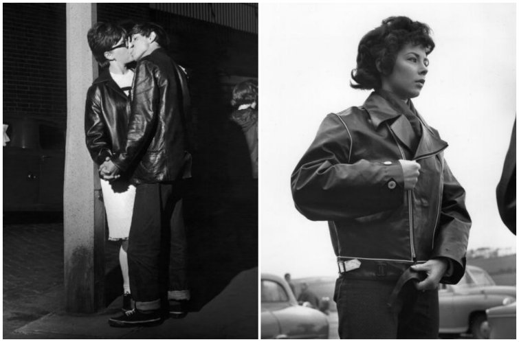 The Subversive, Sexy and Sexist History of Women's Leather Jackets