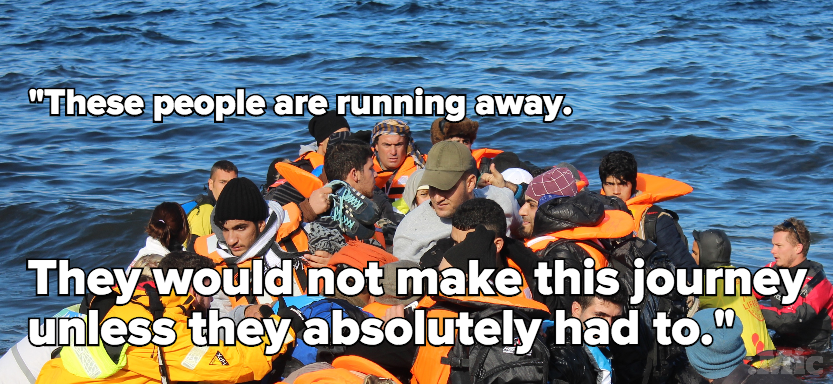 This Is What a Refugee's Harrowing Escape to Europe Really Looks Like
