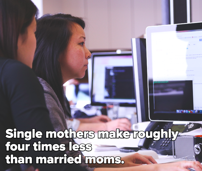 On Equal Pay Day, Here's a Reminder That Moms Are Screwed Over Most by the Gender Wage Gap