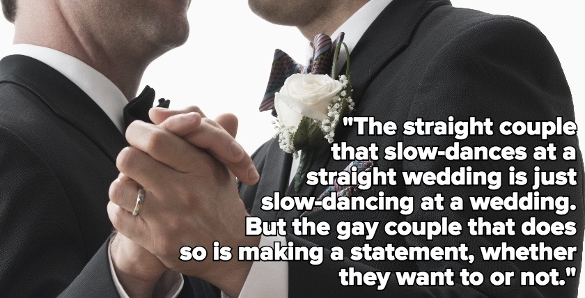 What's It Like To Be a Gay Couple at a Straight Wedding With Old People?