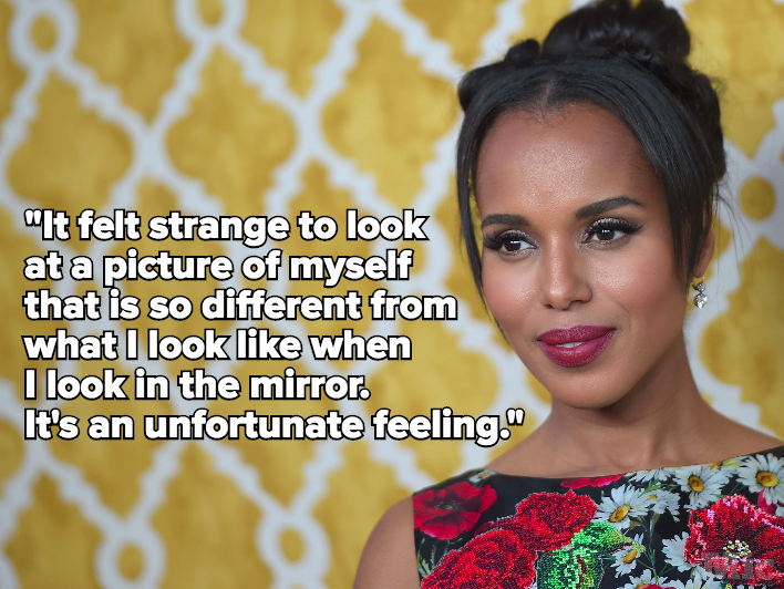 Kerry Washington Has Delivered the Final Words on Photoshop, OK?