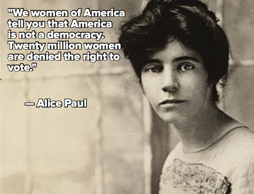 6 Alice Paul Quotes to Celebrate Her Google Doodle on Her 131st Birthday