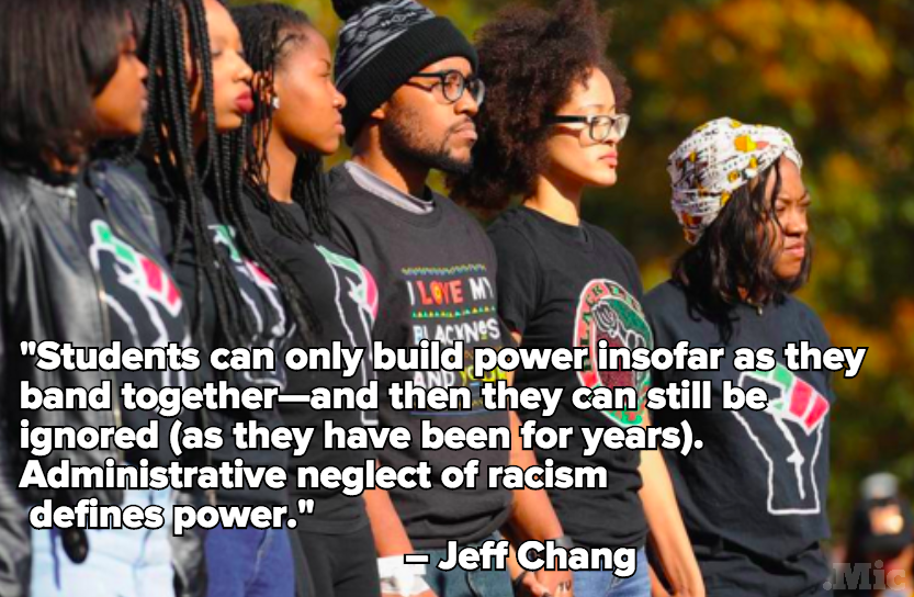 One Quote Perfectly Sums Up What the Media is Missing About Campus Protests