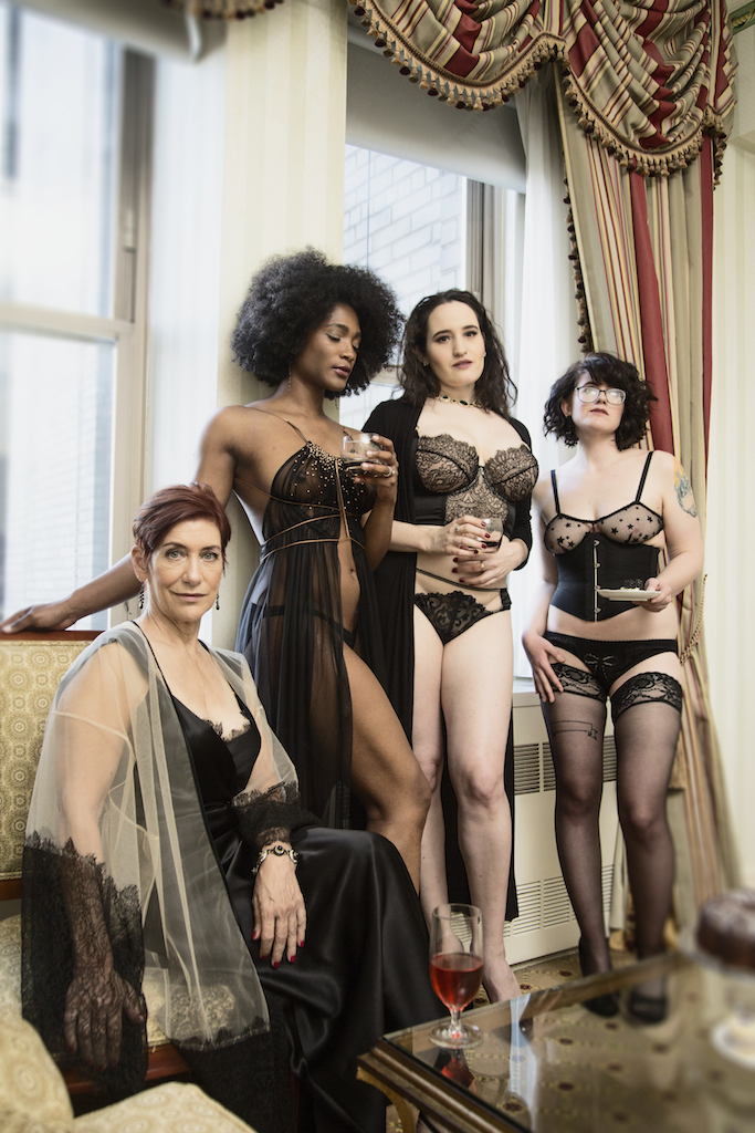 "This Beautifully Diverse ""Tea Party"" Shows What Lingerie ..."