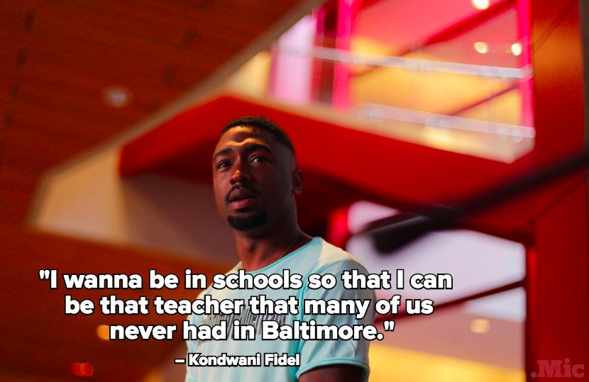 Meet Kondwani Fidel, the Baltimore Substitute Teacher Whose Classroom Poem Went Viral