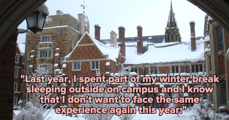 Many College Students Face a Major Obstacle Over Break, But Nobody Is Talking About It