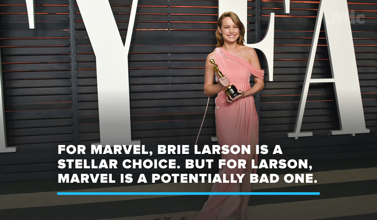 Here's Why Brie Larson Shouldn't Do 'Captain Marvel'